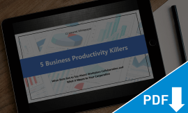 5 Business Productivity Killers - Whitepaper