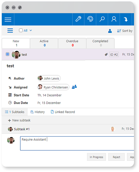 Task Management Tool | LS Intranet